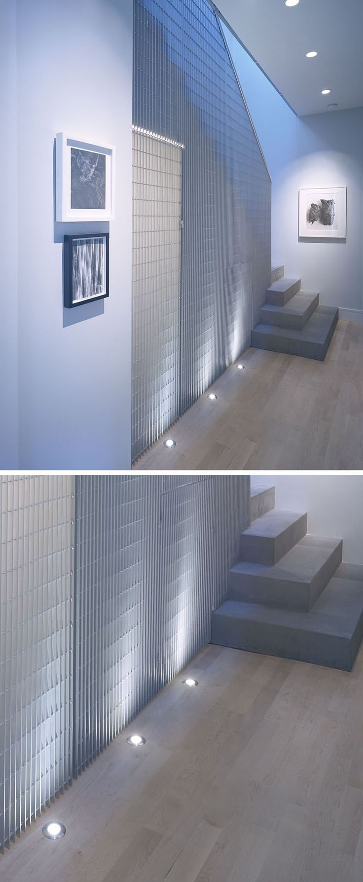 7 Interiors That Use Dramatic Uplighting To Brighten A Space // The lights…