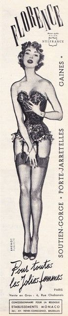 1956 - Florence stockings and girdle