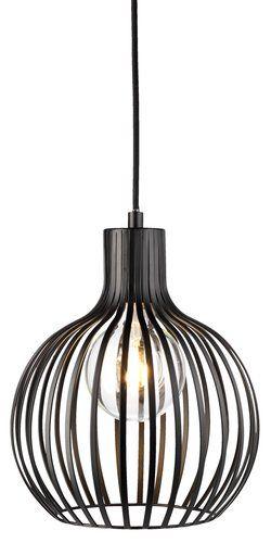 Hanglamp/draadlamp FERDUS zwart Ø23xH28cm incl.LED lamp | JYSK