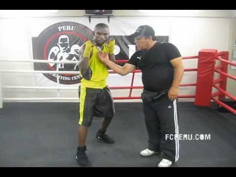 Técnicas de Boxeo para principiantes - Guardia de Boxeo o Parada de Combate - YouTube