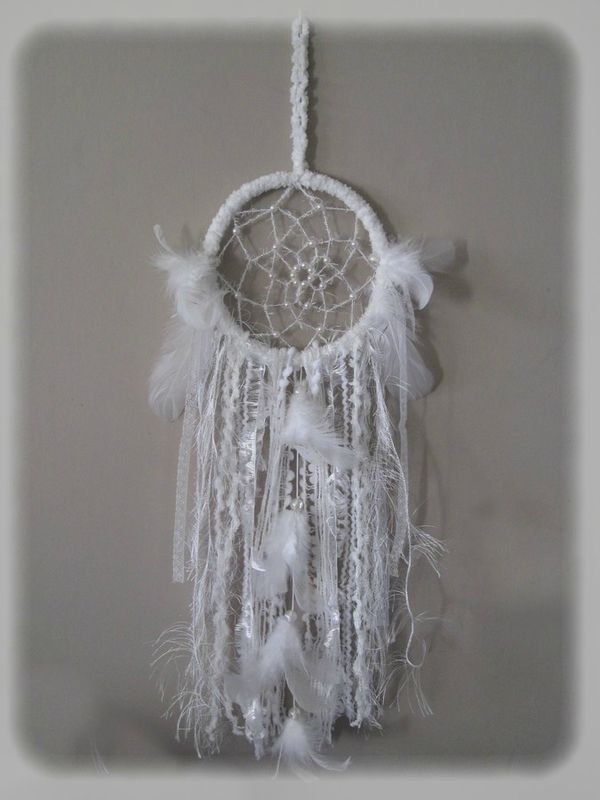 Attrape r ves et panier au crochet id es pour la maison pinterest crochet - Attrape reve crochet ...