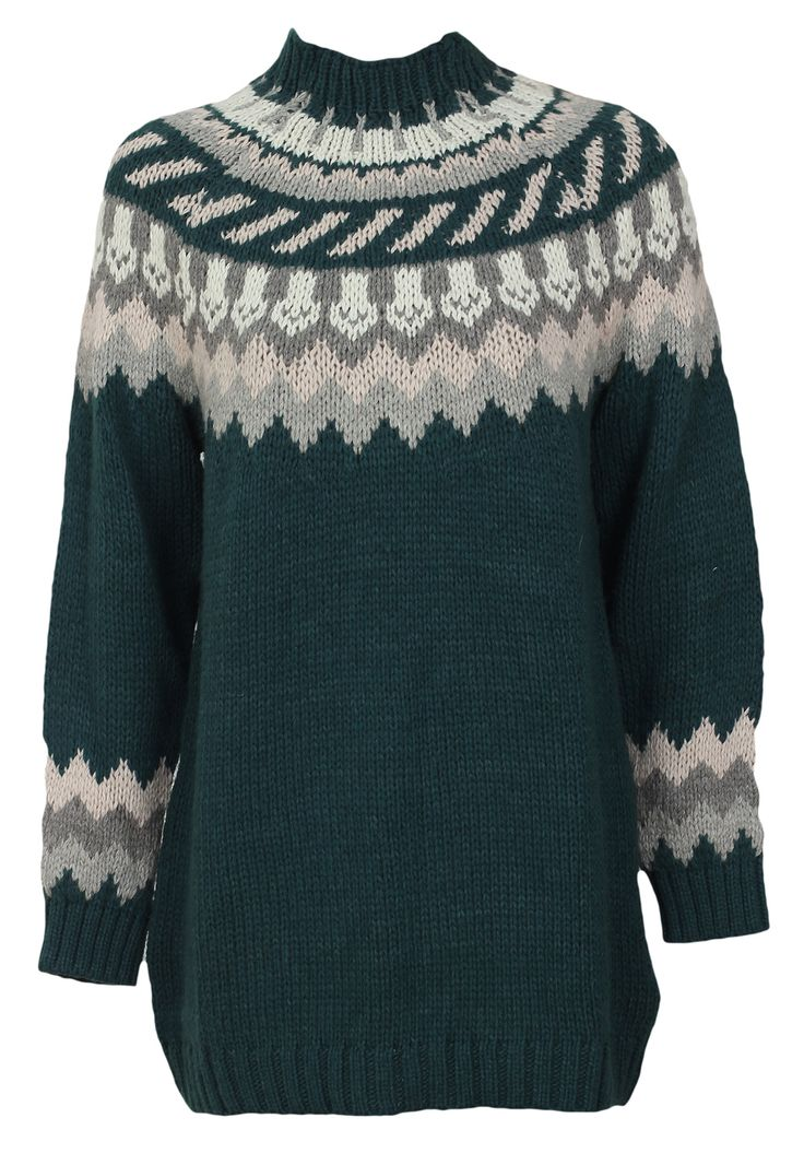 Pulover Pull and Bear Collection Dark Green - doar 49,90 lei. Cumpara acum!