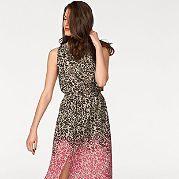 """Платье макси без рукавов - то, что этим летом должна купить каждая модница! Легкий жоржет декорирован """"леопардовым"""" и цветочным рисунком с эффектом деграде. Свободный крой с резинкой на поясе обыгрывает фигуру, подчеркивая талию. На спинке оригинальный вырез, на юбке сбоку разрез. В таком летнем платье незамеченной вы не останетесь! за 3299р.- от Otto"""