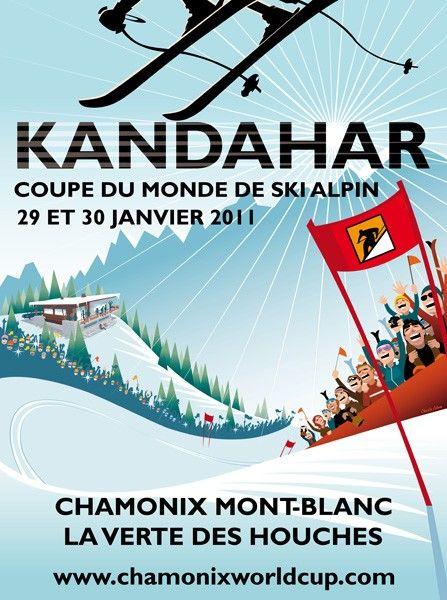 KANDAHAR.Coupe du monde de ski Chamonix 2011