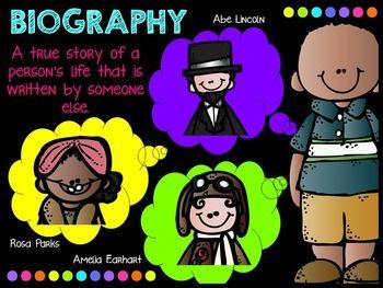 Reading Genre Posters - Classroom BRIGHTS Collecion