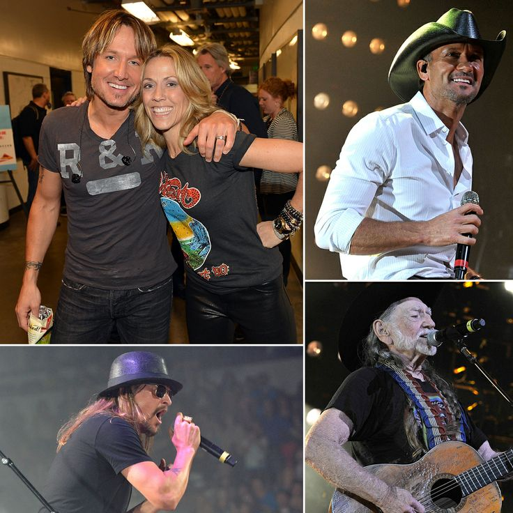 Country Charity Night | Keith Urban, Sheryl Crow, Kid Rock, Tim McGraw, & More