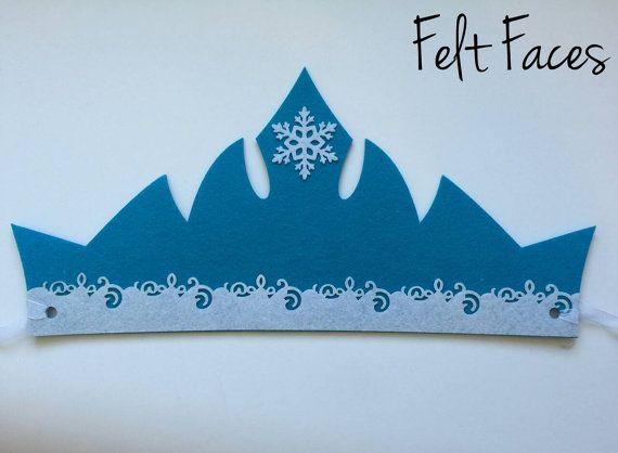 CONJUNTO de 8 Disney congelado Tiara Sven por KSFeltFaces en Etsy