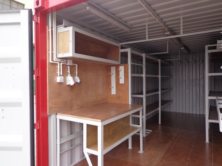 Werkstattcontainer - Neucontainer, Gebrauchtcontainer, Spezialcontainer, hamburg