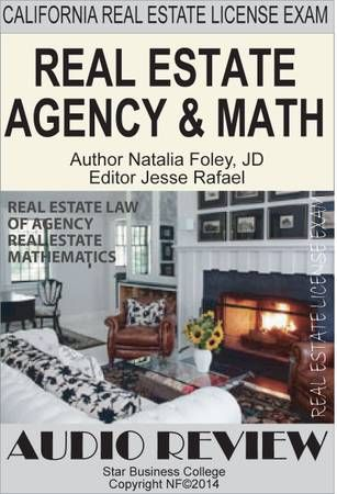 REAL ESTATE LAW OF AGENCY U0026 MATHEMATICS, California Real Estate Agent Exam  Audio Review Order