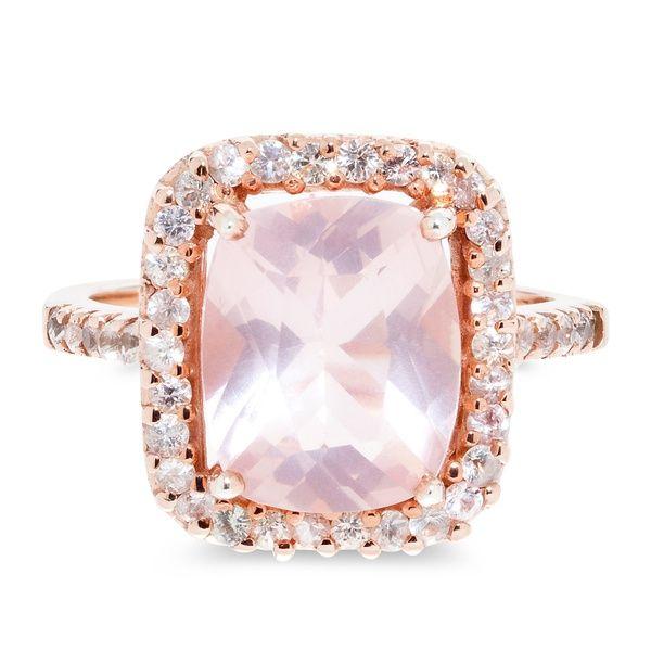 Rose Quartz Ring | Glacier Jewellery | Wolf & Badger