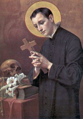 Saint Luigi Gonzaga. Patron saint of teenagers. Feast Day June 21.