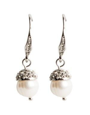 Freshwater Pearl Drop Earrings   Woolworths.co.za