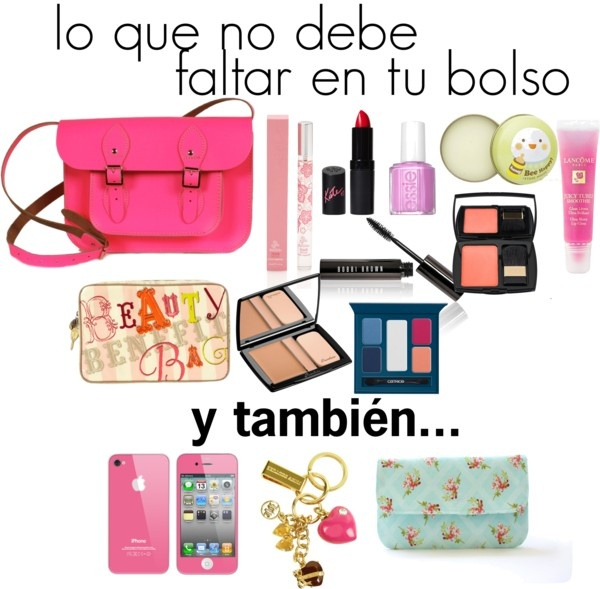 """lo que no debe faltar en tu bolso"" by onlyfashionblog on Polyvore"