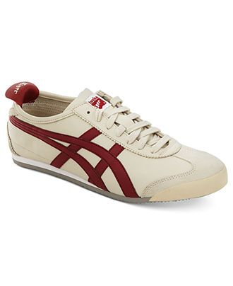 Onitsuka Tiger by Asics Shoes, Mexico 66 Leather Sneakers - Shoes - Men - Macy's