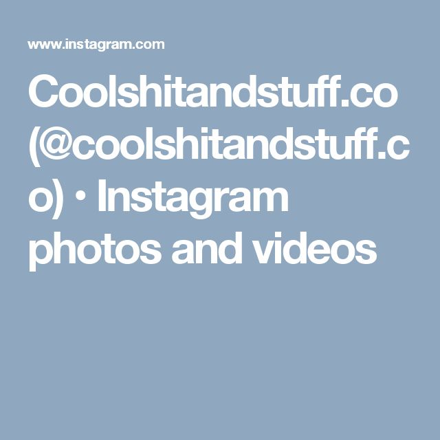 Coolshitandstuff.co (@coolshitandstuff.co) • Instagram photos and videos