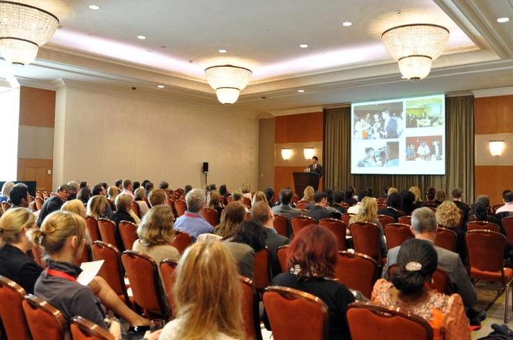 The Keynote speaker Michael Teoh giving his inspirational speech at WETM-IAC!