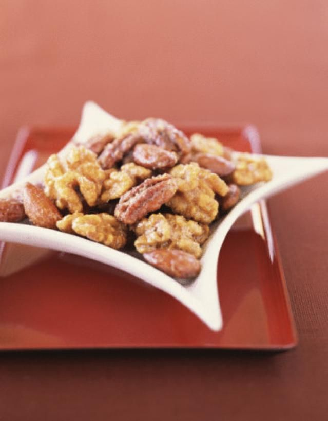 Baked Sugared Pecans Recipe