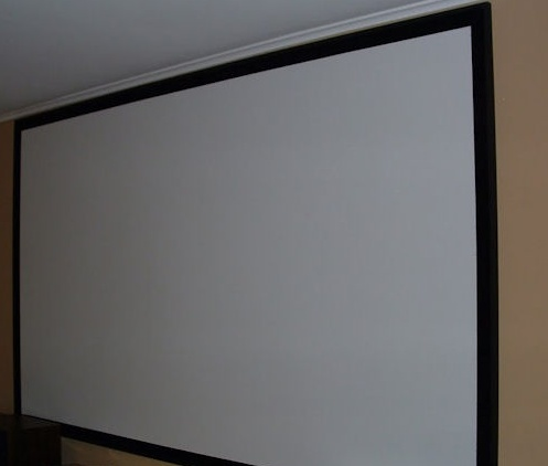 How To Make A Homemade Screen For Theater Room