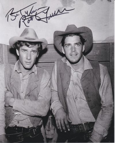 ROBERT FULLER signed autographed LARAMIE JESS HARPER w/ JOHN SMITH photo in Entertainment Memorabilia, Autographs-Original, Television | eBay
