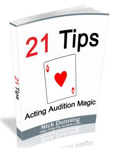 Acting Audition Tips from NLP For Actors.com