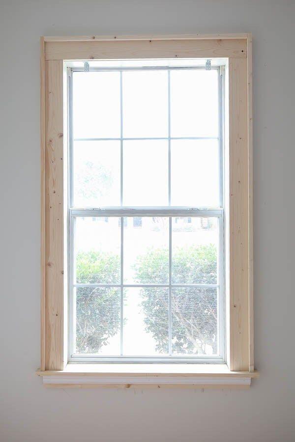 Diy Window Trim Diy Window Trim Diy Window Interior Window Trim