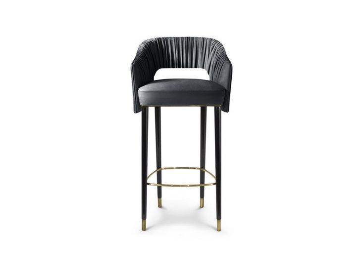 Home decorating ideas: mid-century new collection @brabbu  - STOLA bar chair | kitchen decor ideas