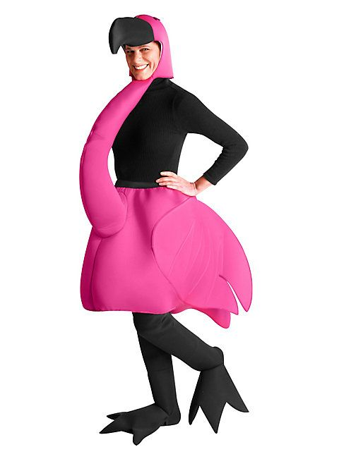 Flamingo Kostüm   Tierkostüm für Karneval   maskworld.com #maskworld #flamingo #pink #karneval #fasching #lustig