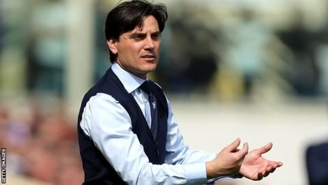 AC Milan have named former Sampdoria boss Vincenzo Montella as their new head coach on a two-year contract. The 42-year-old will take over from Cristian Brocchi, who was acting as caretaker boss fo…