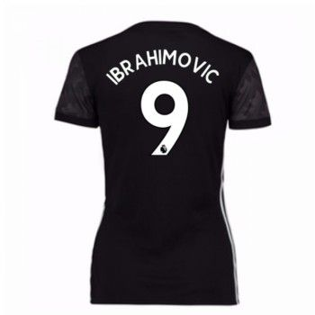 Manchester United Zlatan Ibrahimovic 9 kläder Kvinnor 17-18 Bortatröja Kortärmad  #Billiga #fotbollströjor