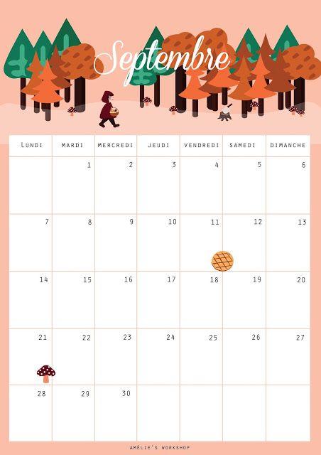 #201 Mon calendrier de Septembre | amelie's workshop