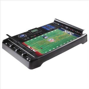 Excalibur Nf - 06 Nfl Gametime Electronic Football by Archbrook Laguna (formerly BDI). $39.98. Matrix LCD tracks the game with realistic sounds and announcer voice. Comes with authentic NFL field detailing/ there are over 1,000 play combinations. NFL GameTime Electronic Football. Players battle head-to-head for glory. Unique play rotor adds the element of chance. From the Manufacturer                NFL Game Time is the most challenging, exciting NFL strategy game ev...