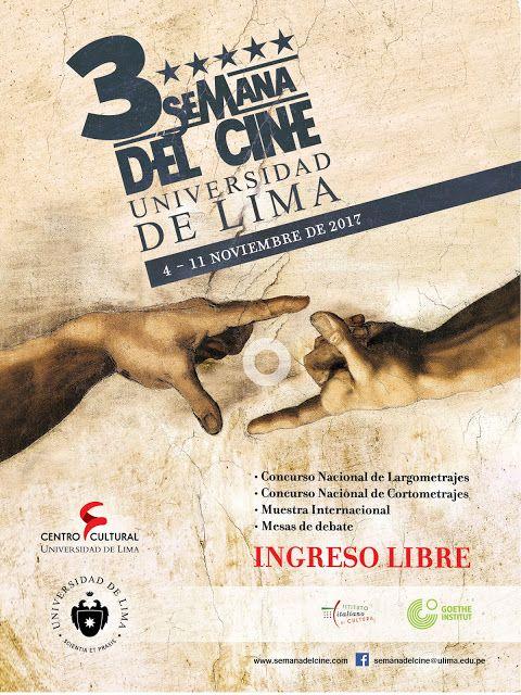 LIMA VAGA: Tercera Semana del Cine presentará producciones pe...