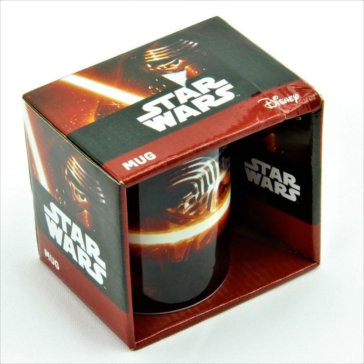 Official Star Wars: Episode VII The Force Awakens kylo ren Mug Cup collectable
