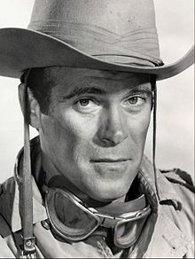 """Christopher George at Sgt. Troy in TV's """"The Rat Patrol"""". 2/25/1931 - 11/2/1983."""