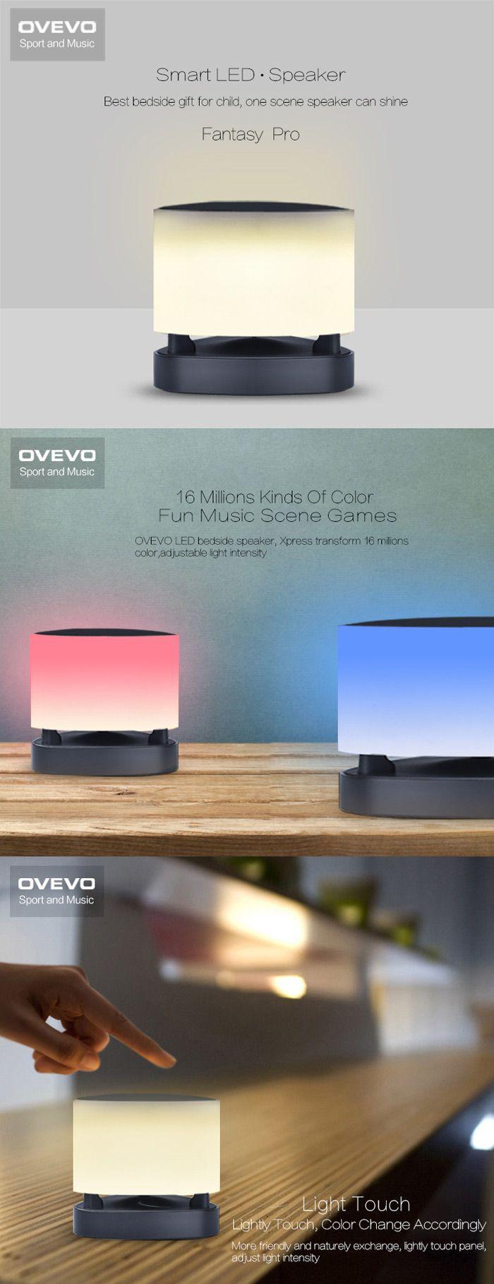 OVEVO Fantasy Pro Smart Bluetooth 4.0 Music Speaker Lamp LED Light Intelligent Bulb