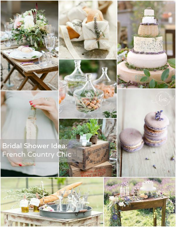 Bridal Shower Theme French Country Chic Bridal Shower Ideas