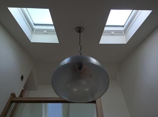 Residential Architecture velux rooflights over stairs