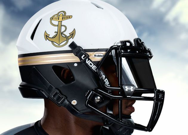 Under Armour Provides Navy with New 'Summer White' Uniforms for Ohio State Game | Bleacher Report