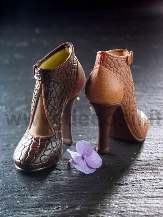 stampo scarpa di cioccolato, stampo scarpa per cioccolato, stampo scarpa cioccolato, stampo scarpa pdz, stampo per scarpa di cioccolato, stampo per scarpa in pasta di zucchero,