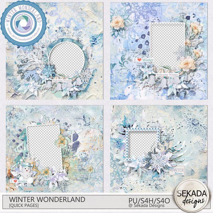 Digital Art :: Quick Pages :: Winter Wonderland [ Quick Pages ]