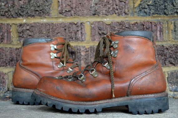 Vintage Irish Setter Red Wing Hiking Boots Men's size 9.5