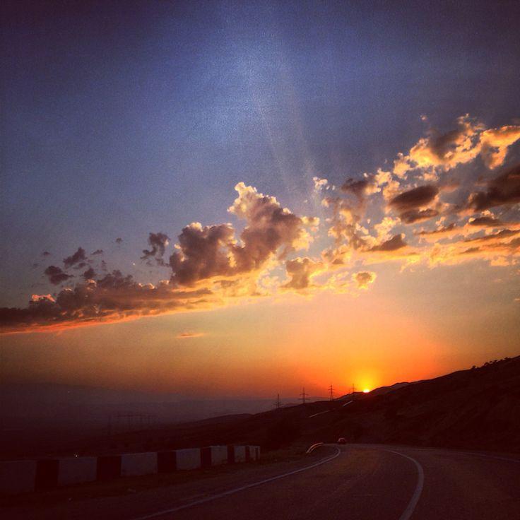 Закат на перевале