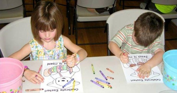 Cómo hacer un plan de clase para el preescolar