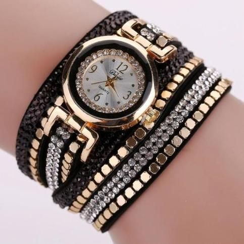 Feature:      Movement: quartz watch     Case material: Alloy     Surface diameter: 2.5cm     Case Thickness: 0.7cm     Strap width:2.0cm     Band length:39.5cm     Weight:27.2 g     Watch strap color: Black,red,blue, white,gold  Package Content:      1xWatch
