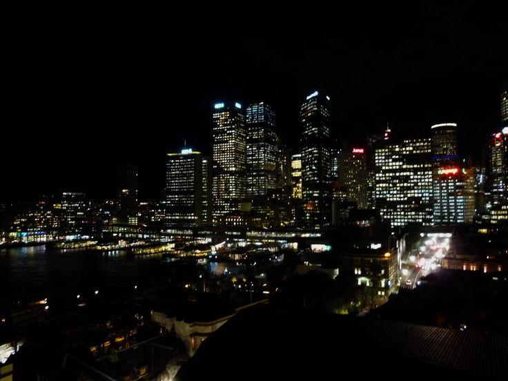 Sydney Skyline at Night - Australia