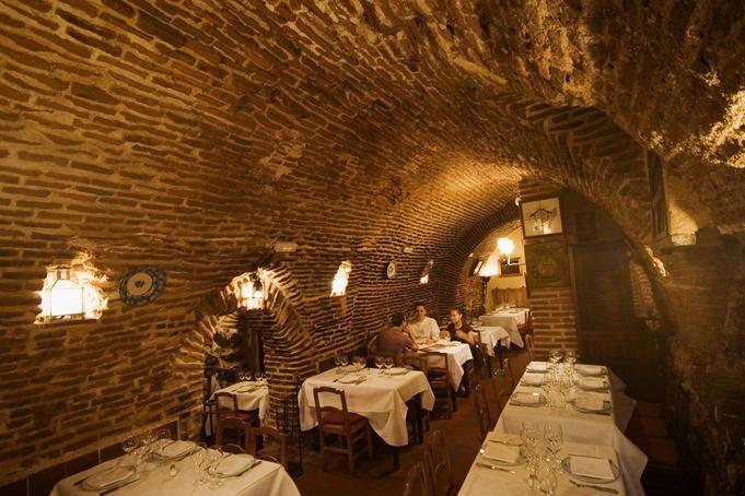 Madrid - Sobrino de Botín. El restaurante más antiguo del mundo (fundado en 1725). Junto a la Plaza Mayor