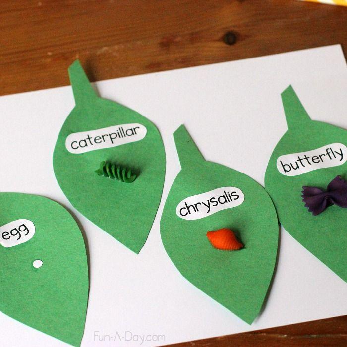 Butterfly life cycle craft #PLAYfulpreschool