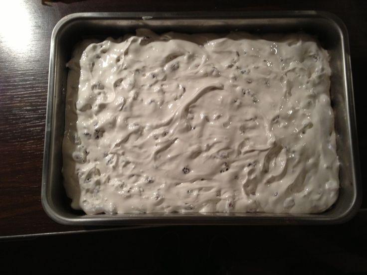 Dit recept kreeg ik van Lisette. Een oude bekende! Een heus recept voor nougat (geïnspireerd op een recept van Rudophs Bakery). Nougat zit echt bomvol suik