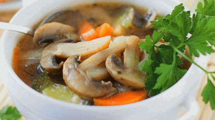 Постный суп с грибами или что приготовить во время поста