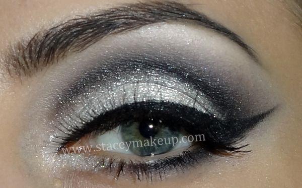 Rock the prom!Grey Eyeshadows, Eye Makeup, Cat Eyes, Beautiful, Makeup Ideas, Dates Night, New Years, Black Cat, Prom Makeup